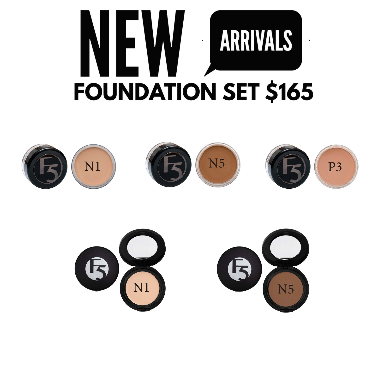 GLAM - New Arrival Foundation Pack