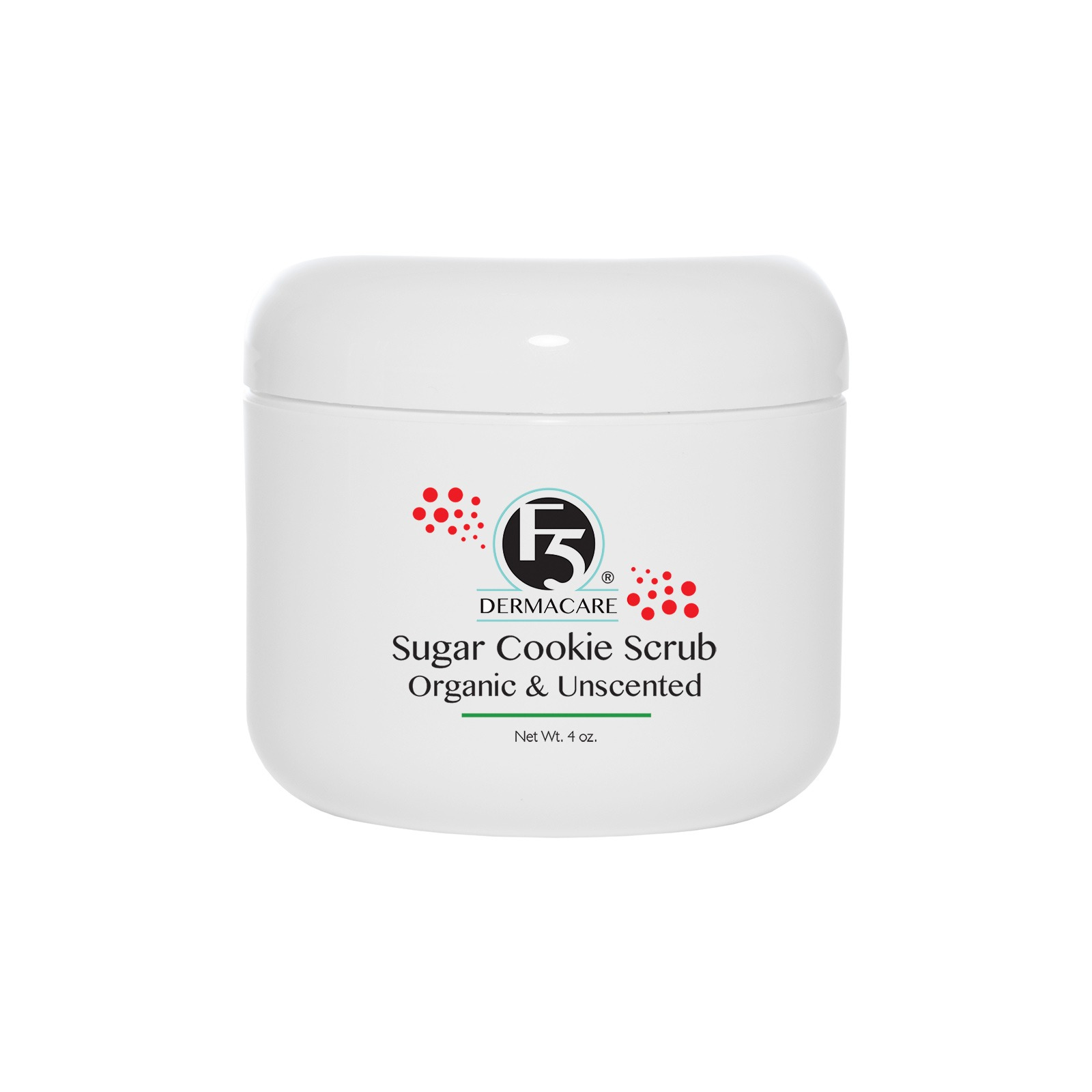 Sugar Cookie Organic Scrub Unscented and Organic - Limited Edition