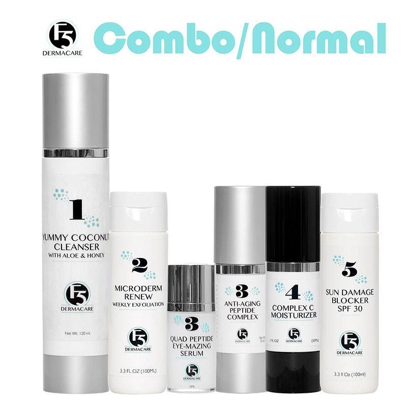 Normal & Combination Skin Care Set