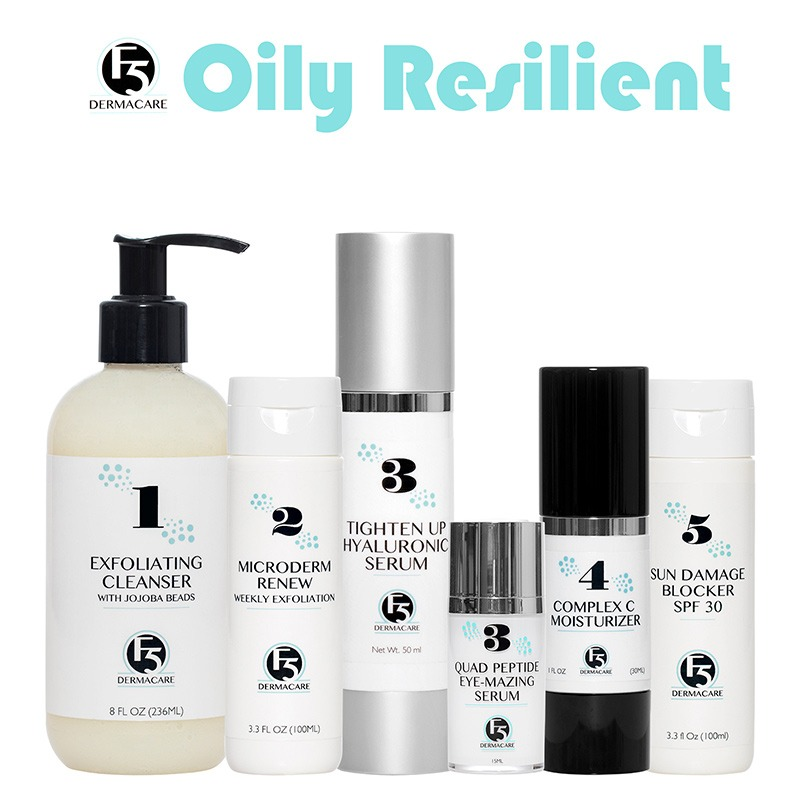 Oily Resilient Skin Care Set