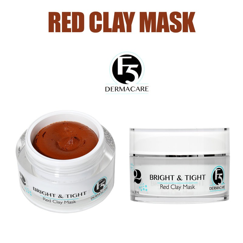 Bright And Tight Red Clay Mask